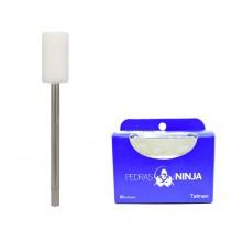 Pedra Ninja Branca W12 Clindrica - 10 unid