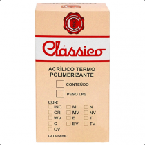 Resina Termopolimerizavel Rosa Escuro com veias 440g- Classico
