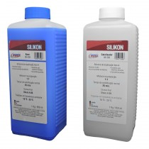 Silicone Duplicador Silikon - Durazera Shore 09 - Odontomega - Ref.08-309