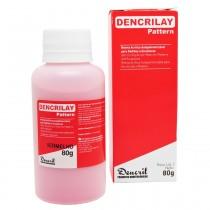 Resina Acrílica Autopolimerizável Dencrilay Speed Vermelho 80g