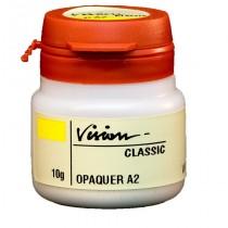 Vision Classic Opaco Intensivo White- 10g